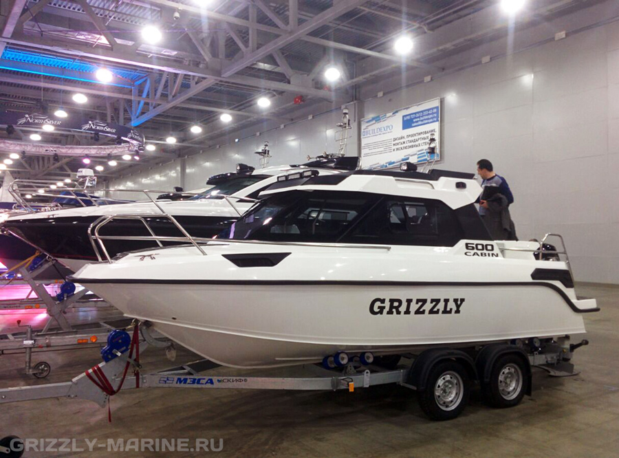 Катер GRIZZLY 600 HT